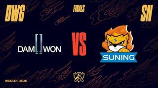 Game TV Schweiz - DWG vs. SN | Finals Game 1 | World Championship | DAMWON Gaming vs. Suning (2020)