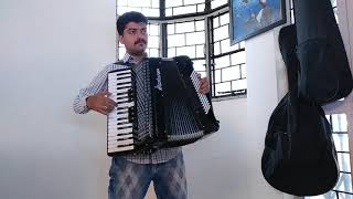 Hai Apna Dil Toh Awara Piano Accordion