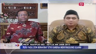 Download Video Tanggapan Mahfud MD Terkait Jerat Hukum soal Puisi Fadli Zon - iNews Sore 14/02 MP3 3GP MP4