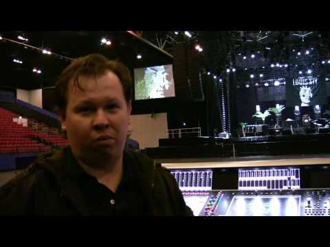 DiGiCo SD7 with James Gebhard on Tour with Killers and Capital Sound