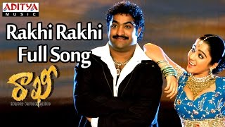 Rakhi Rakhi Full Song || Rakhi Telugu Movie || Jr Ntr, Ilieyana, Charmi