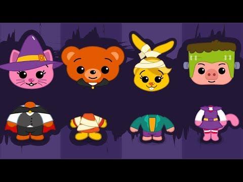 Cabeças Erradas do Monstros #02 HALLOWEEN Bebês Chorando | Brinquedos para Crianças