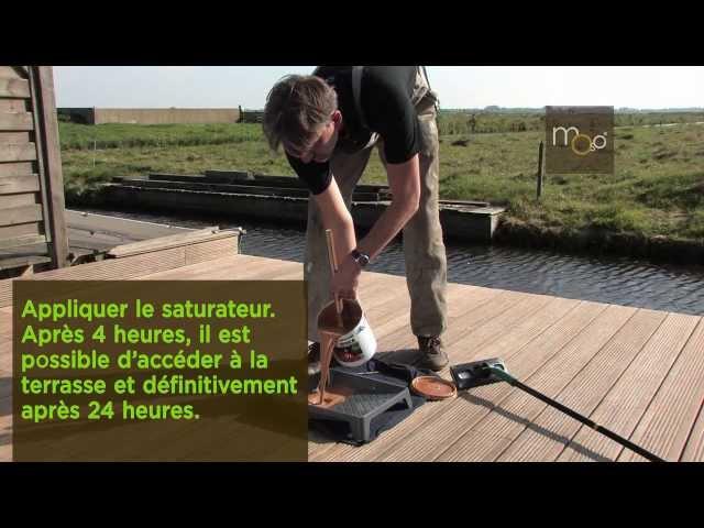 Instruction d'installation et entretien de la terrasse en bambou  (MOSO Bamboo X-treme)