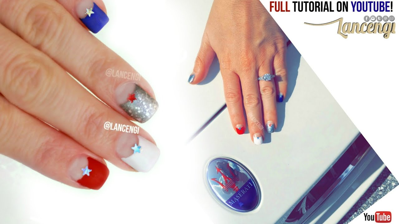 DIY Cute & Easy Nail Art Polish Designs for Beginners! - Fourth of ...