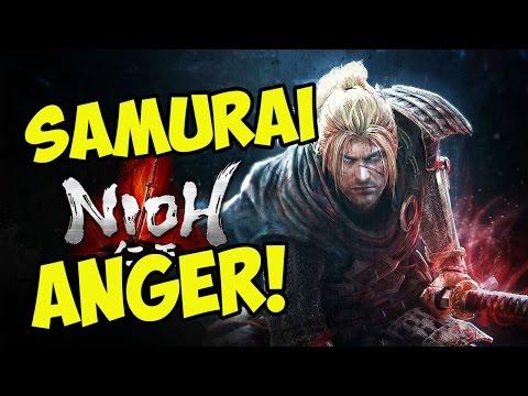 HARD F*CKIN GAME! Nioh Beta Demo Rage! (#1)