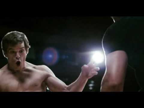 Michael C Hall Gamer Dance+Fight Scene.