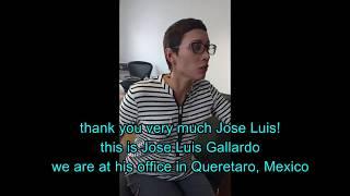 Visited Jose Luis Gallardo at his practice in Queretaro, Mexico. He...