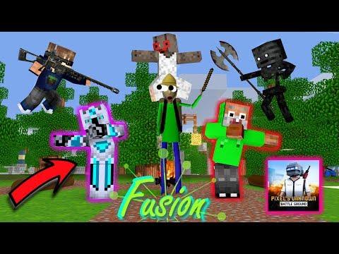Monster School : Frost Diamond , Odo Kentang Chicken Dinner PUBG -  Minecraft Animation