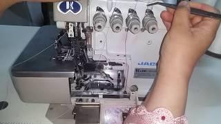 طريقة تركاب خيط السورجي للمبتداة(خياطة الزي الاصيل)