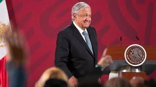 Andrés Manuel López Obrador live stream on Youtube.com