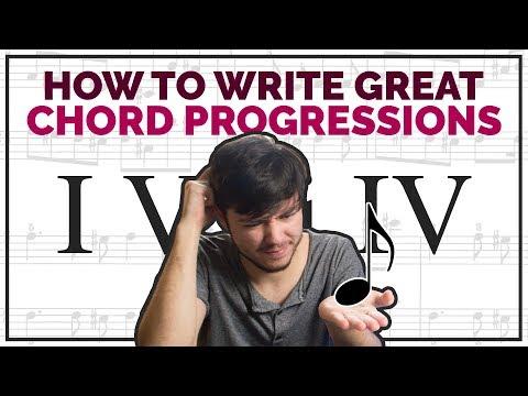 Write Great Chord Progressions Fast (I V vi IV)