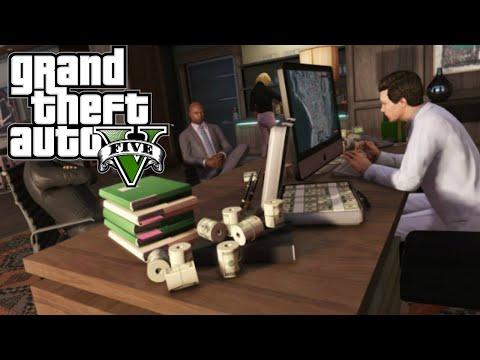 $1.1M Maze Bank West Office Tour! - New GTA 5 Finance & Felony DLC