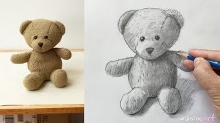 How to draw a teddy bear
