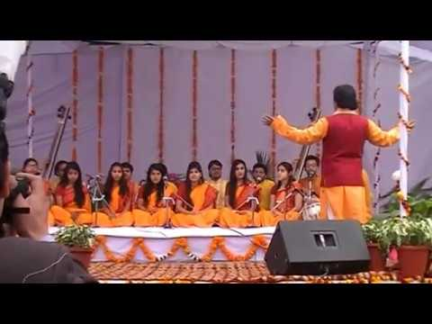 Jaya Jaye Bhagawati (Raag Basant Bhajan) - Students Of The Faculty Of Music & Fine Arts DU