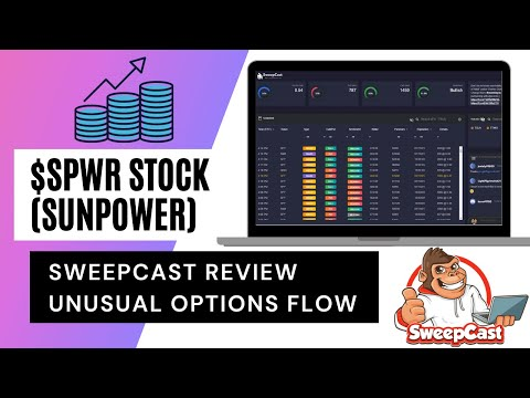 SPWR Stock Review with SweepCast Unusual Options Activity (SunPower Stock $SPWR)