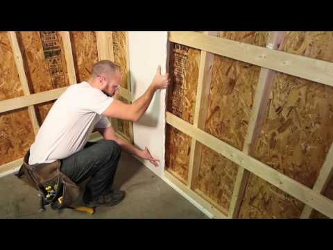 Domtek Trusscore PVC Wall & Ceiling Panel Install Video - v2 Update