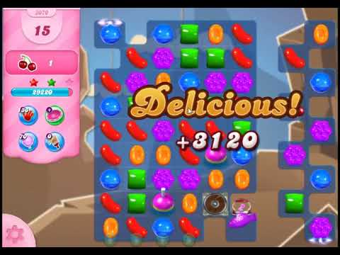 Candy Crush Saga Level 3070 - NO BOOSTERS