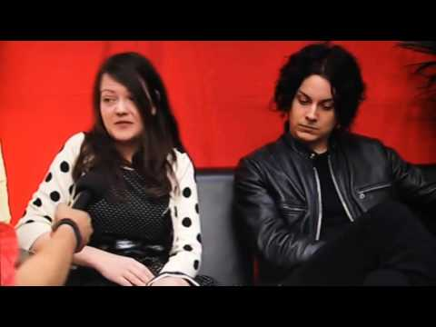 The White Stripes - Interview. O2 Wireless Festival 2007.