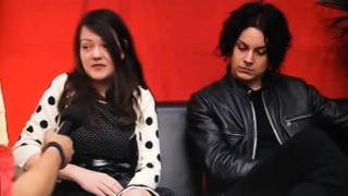 The White Stripes Interview at the O2 Wireless Festival 2007.