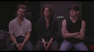 an interview with LANY