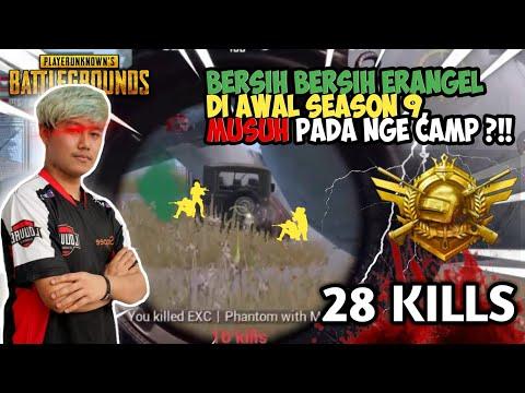 SEHABIS TOURNEY LANGSUNG BARBAR DI AWAL SEASON 9 !!! - PUBG MOBILE INDONESIA