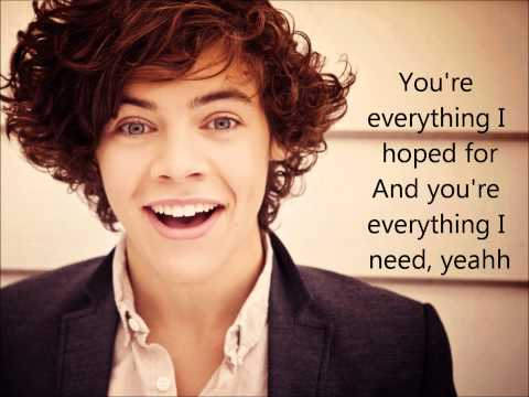 One Direction -You Are So Beautiful- Lyrics On Screen