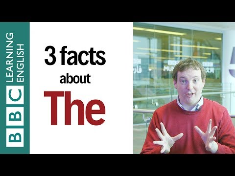 3 Facts about 'The': English In A Minute