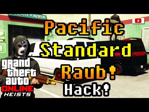 Grand Theft Auto 5 Online Heists - Pacific Standard Raub! (Hack/PlayStation 4)