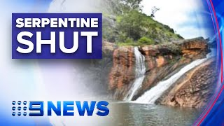 Serpentine Falls closed due to deadly bacteria