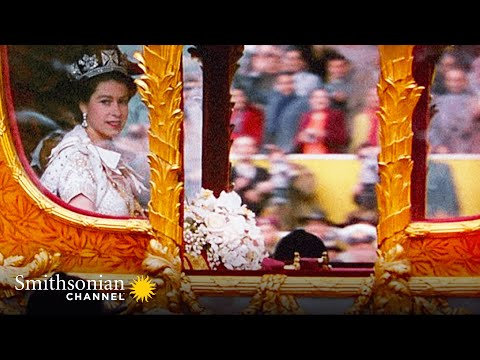 Queen Elizabeth II on the Ride to the Coronation