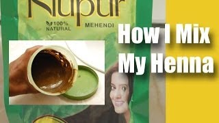 Henna for Hair -- How I Mix My Henna