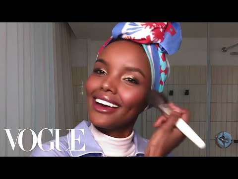 Halima Aden's Epic Guide to Glowing Skin & Golden Eyes | Beauty Secrets | Vogue