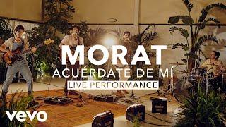 Gambar cover Morat - Acuérdate De Mí (Live) | Vevo X