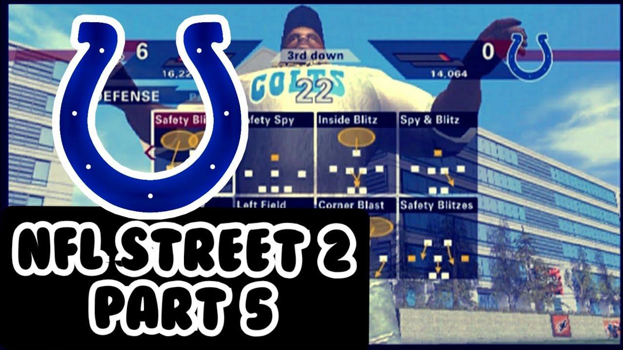 NFL STREET 2 | CHIEFS VS COLTS | PART 5