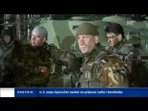 """Ekipa filma i serije """"General"""" na Livanjskom polju"""