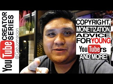 Copyright Rules, Monetizing(Not adsense), Advice for young youtubers,etc | Small Youtuber Help