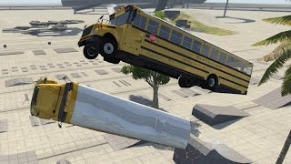 Blue Bird American School Bus - BeamNG.drive
