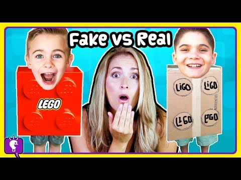 LEGO or LIE-GO?! Surprise TOYS with HobbyFrog Reviews ULTIMATE Lego Collection by HobbyKidsTV