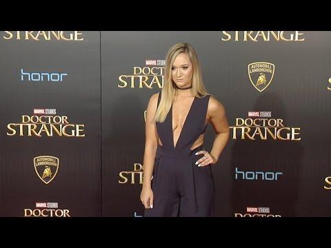 "Alisha Marie ""Doctor Strange"" World Premiere Red Carpet"