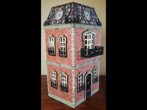 STEAMTOWN TWO STORY HOUSE BASIC CONSTRUCTION - PART 1