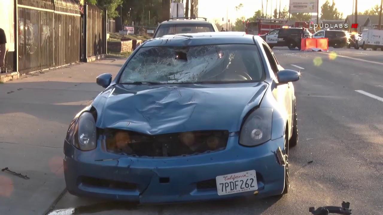 Fatal Road Rage Traffic Collision Vehicle Vs Bicyclist / San Bernardino  6 4 18