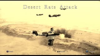Blazing Angels: Squadrons of WWII | Mission 6 | Desert Rats Attack