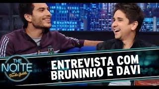 The Noite (29/08/14) - Entrevista com dupla Bruninho e Davi