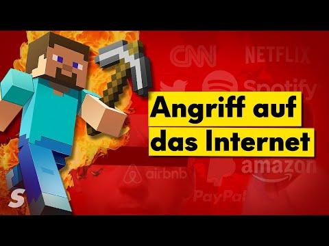 Wie 3 Minecraft-Betrüger das Internet lahmgelegt haben
