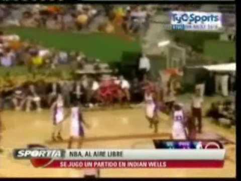 NBA Pretemporada 10/10/2009: Golden State...