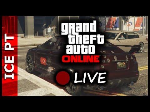 GTA V ONLINE #223 - Finalmente está a nevar em Los Santos! (LIVE)