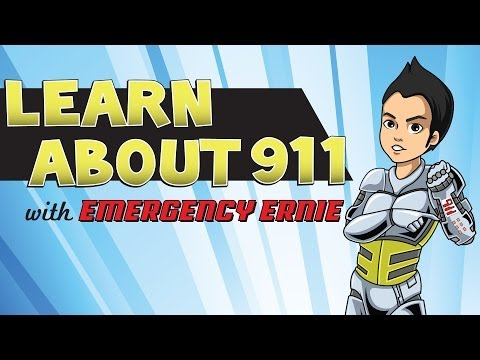 Learn About 911 with Emergency Ernie