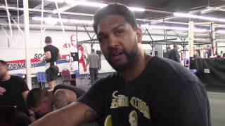 AMERICAN HEAVYWEIGHT CONTENDER DOMINIC BREAZEALE BREAKSDOWN DEONTAY WILDER v GERALD WASHINGTON