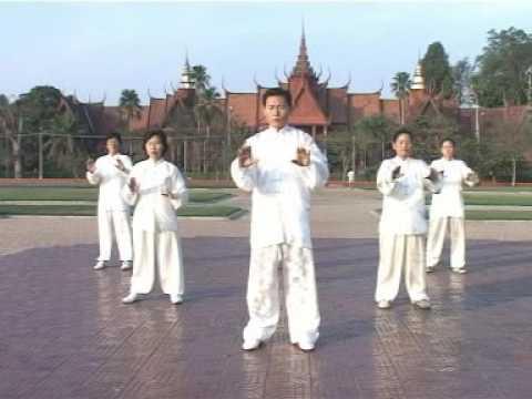 Cambodia Master Kim Basic Tai Chi Qi Gong 7-12