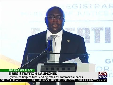E-Registration Launched - The Market Place on Joy News (19-10-17)